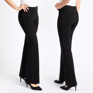 Betabrand Boot Cut Dress Pant Yoga Pants Sz LP